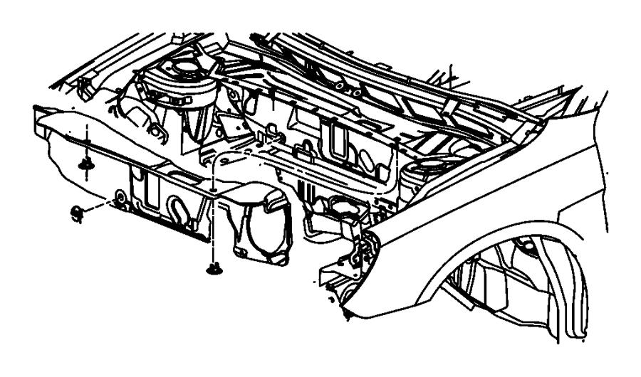 2008 chrysler sebring silencer  dash panel