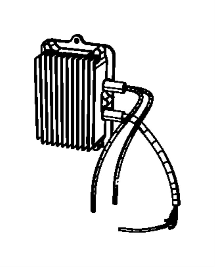 chrysler aspen module  auxiliary transmission pump  mopar