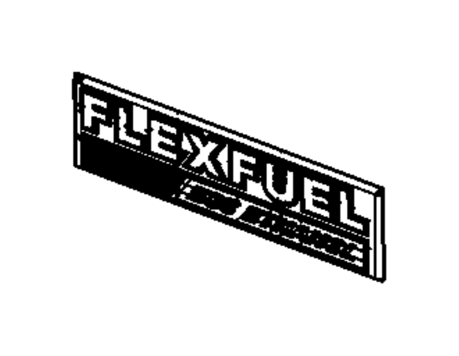 2012 jeep grand cherokee nameplate  flex fuel e85 ethanol