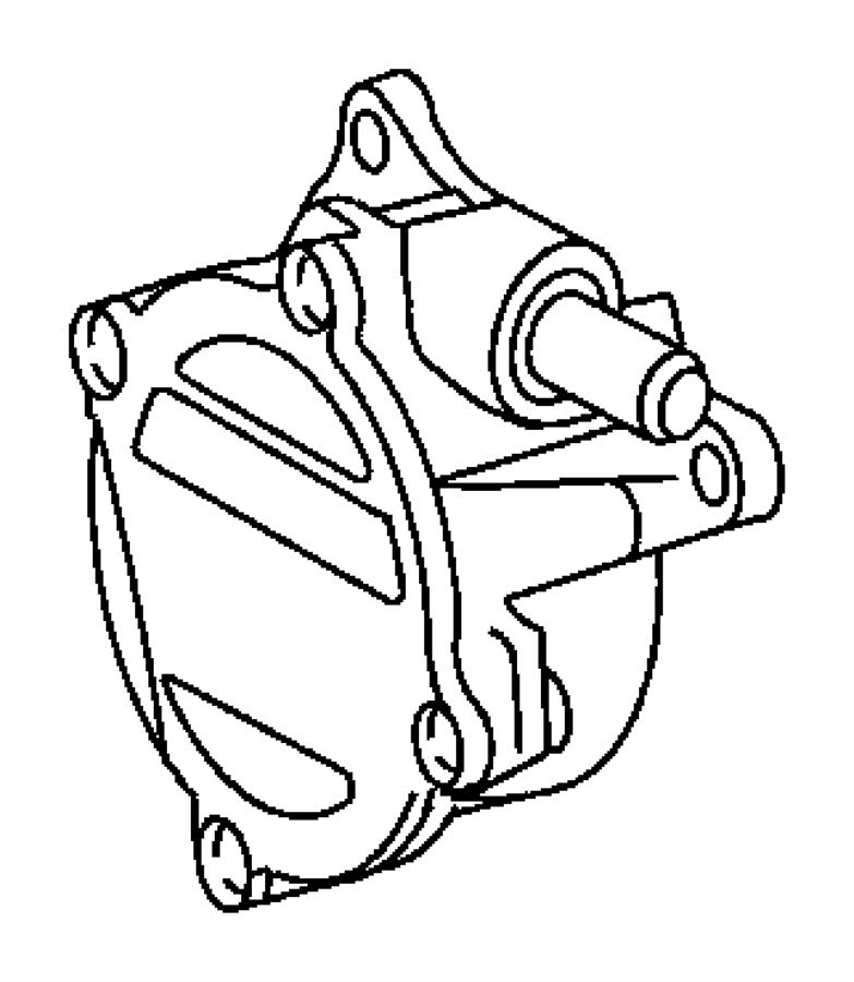 Jeep Grand Cherokee Pump  Vacuum  Diesel  Turbo  Engines