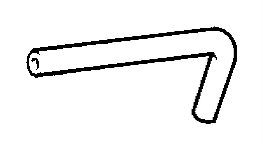 2008 chrysler pt cruiser hose  brake booster vacuum