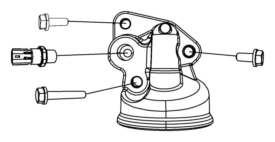 KC3n 16021 additionally Engine Oil Pump Oil Filter likewise 68033331AA in addition 4 3 Mercruiser Parts Diagram together with Mopar Hose Crankcase Vent 53032811ab. on mopar oil filter