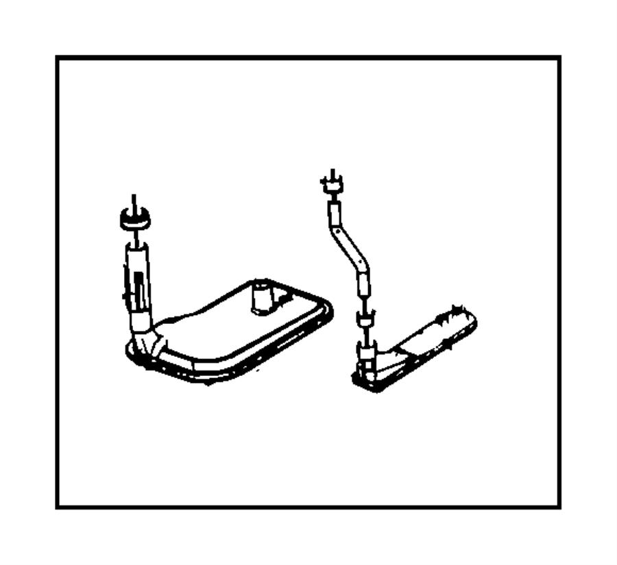 chrysler aspen seal  auxiliary filter