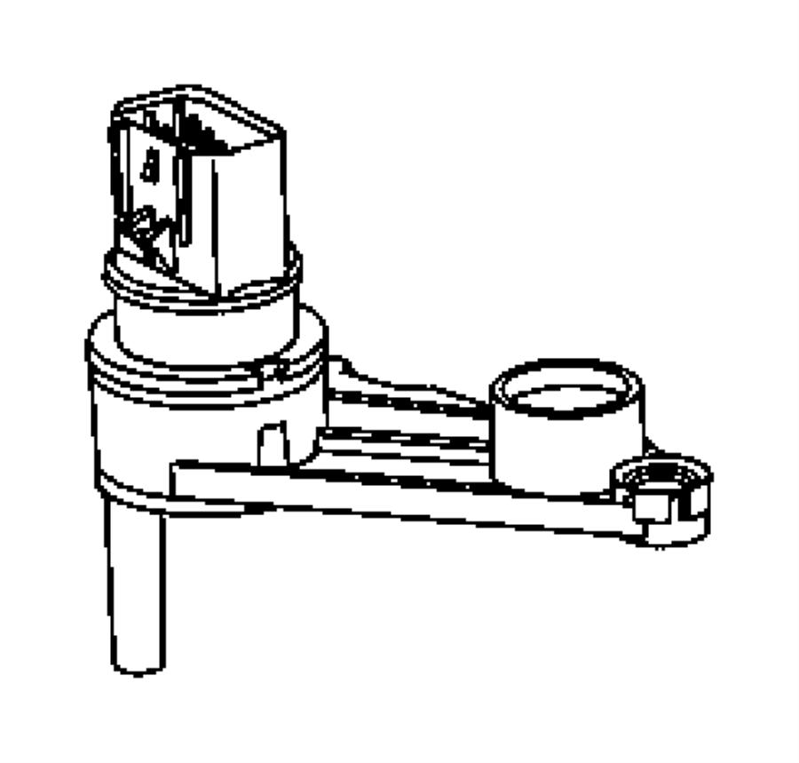 2011 dodge dakota sensor  manual valve lever  after 9