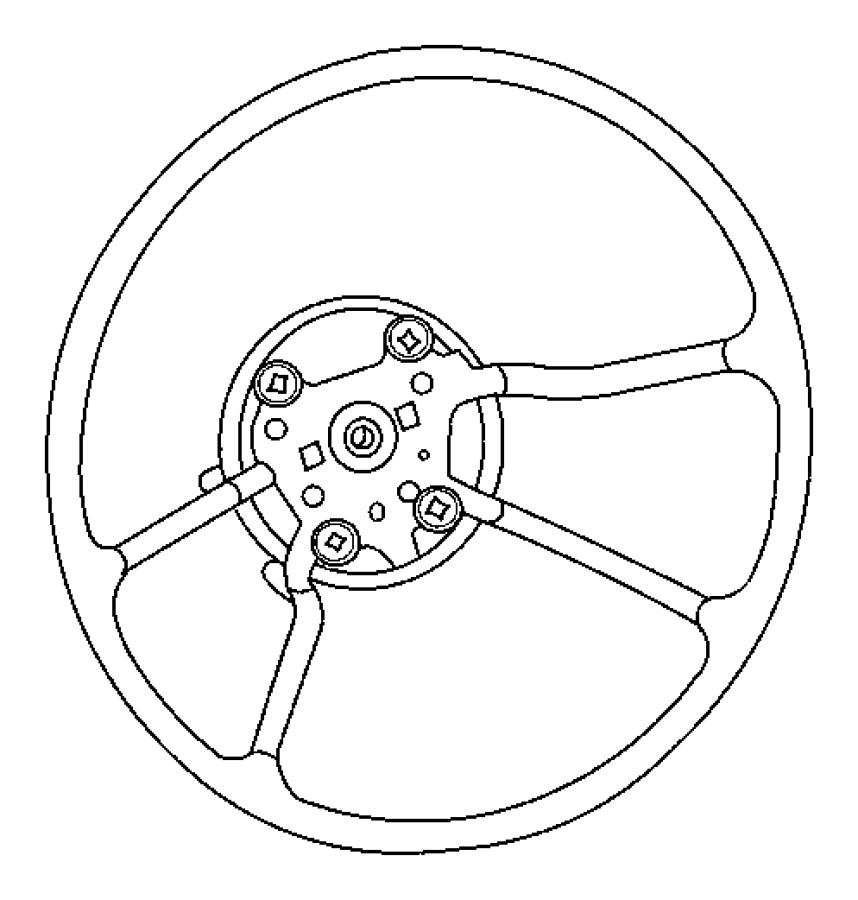 2008 jeep wrangler wheel  steering  trim   all trim codes  color   dk slate gray  med slate