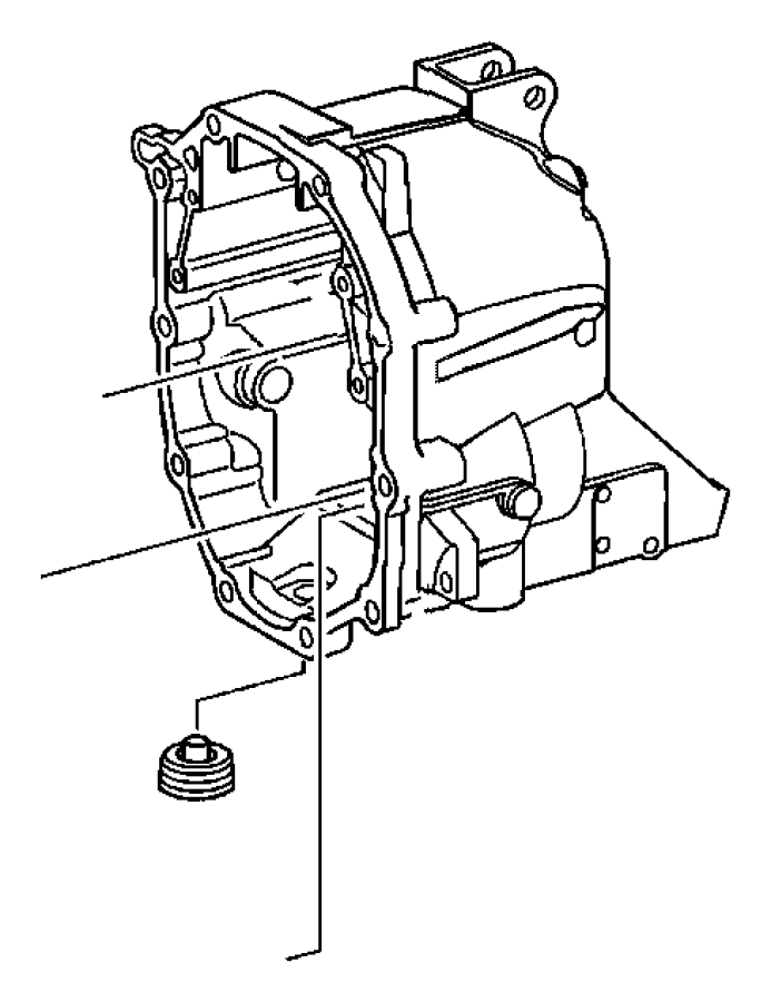 2007 jeep liberty housing  transmission  case  related