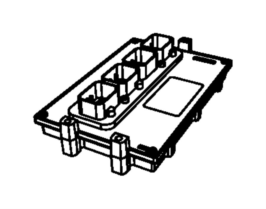 jeep wrangler module powertrain control generic new. Black Bedroom Furniture Sets. Home Design Ideas
