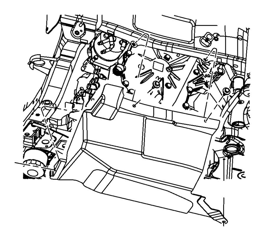 2014 jeep patriot shield  transmission   xep   engine  oil
