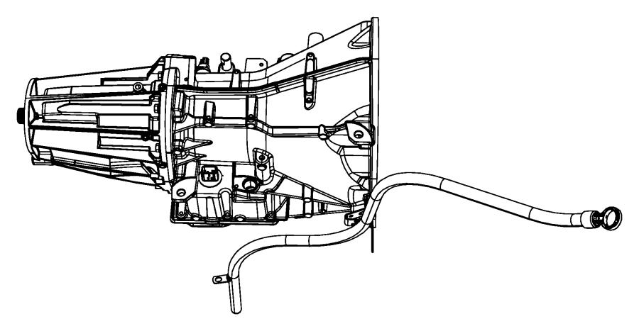 2010 dodge ram 1500 indicator  transmission fluid level