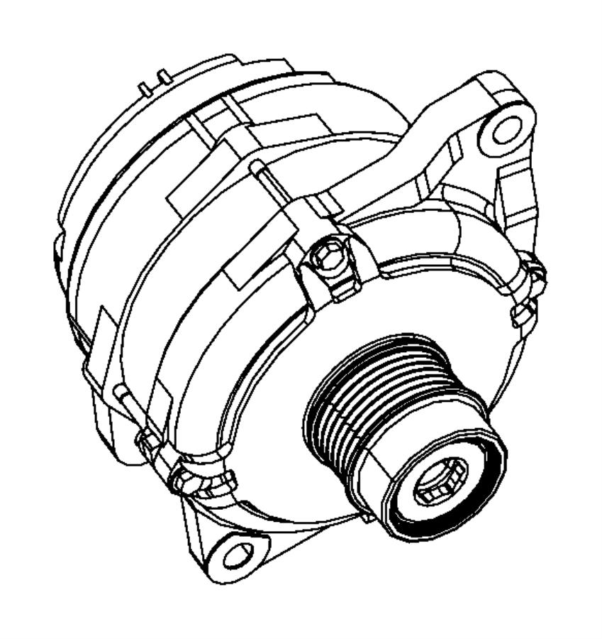 2012 dodge avenger generator engine 120 amp alternator. Black Bedroom Furniture Sets. Home Design Ideas