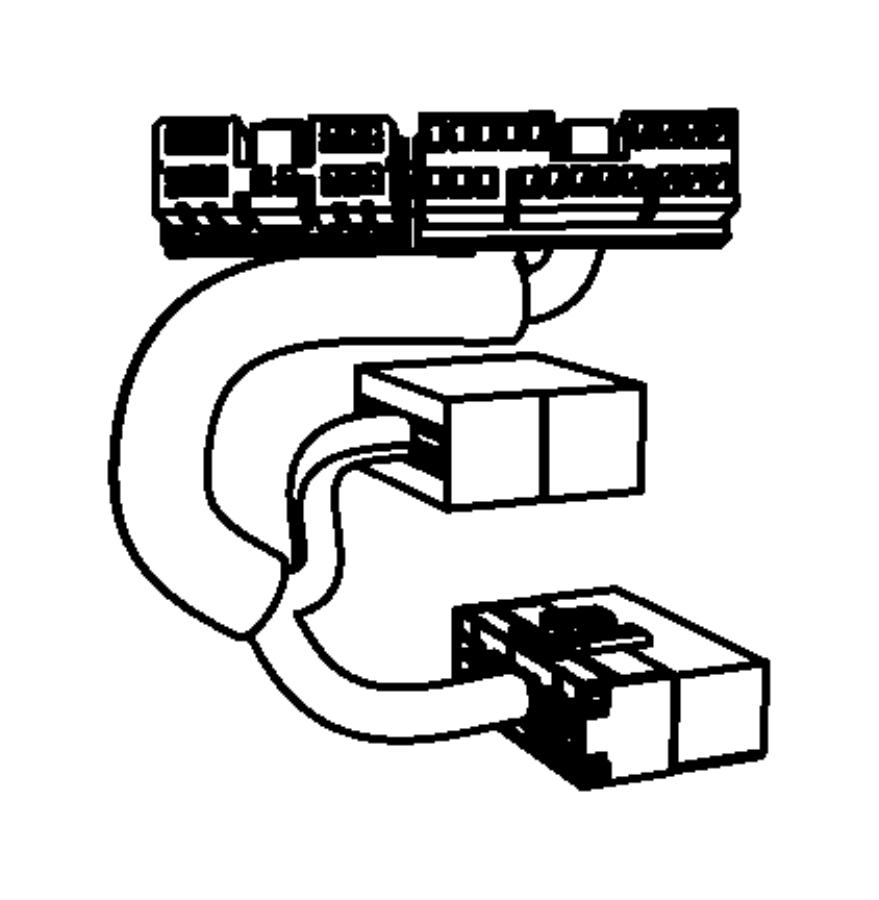 2009 chrysler sebring wiring  jumper  amplifier   6 boston acoustics speakers   amplifier