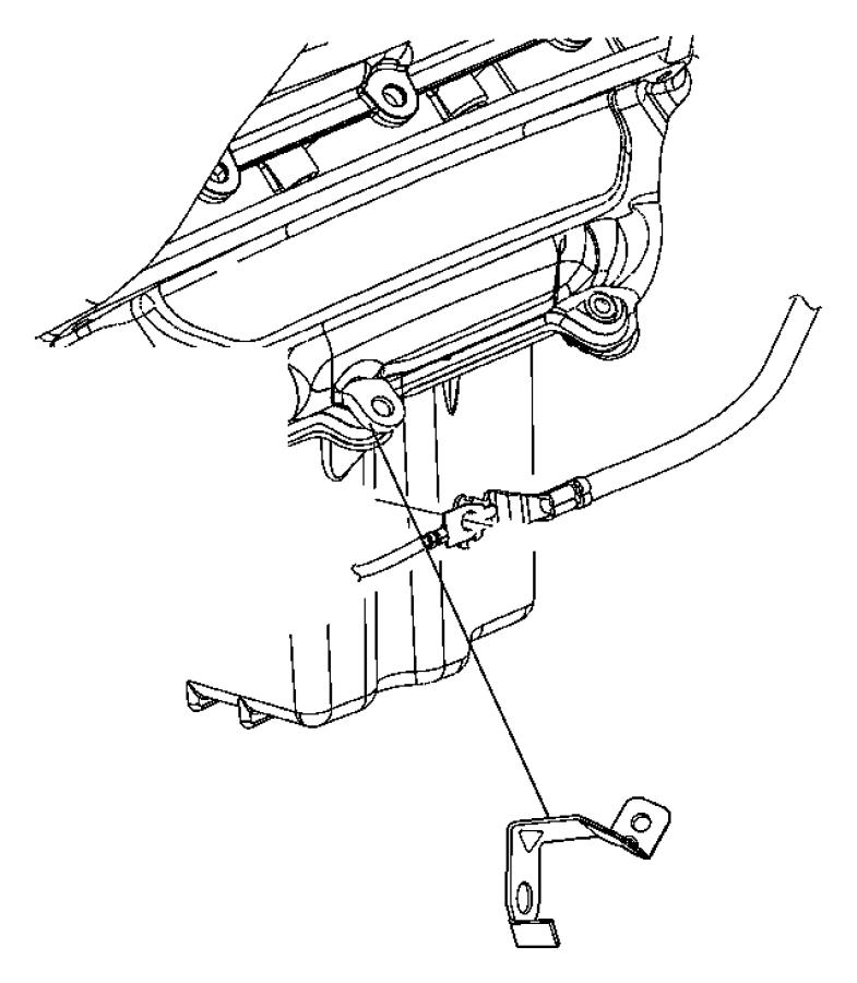 2009 dodge charger bracket  wiring  rwd  starter wiring  starter wiring bracket rwd  starter