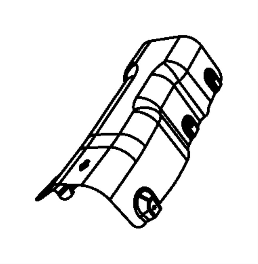 Chrysler Sebring Shield  Exhaust  Floor Pan  Resonator