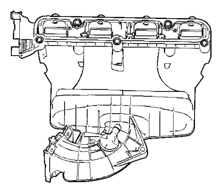 2008 Chrysler Sebring Manifold. Intake. Edg