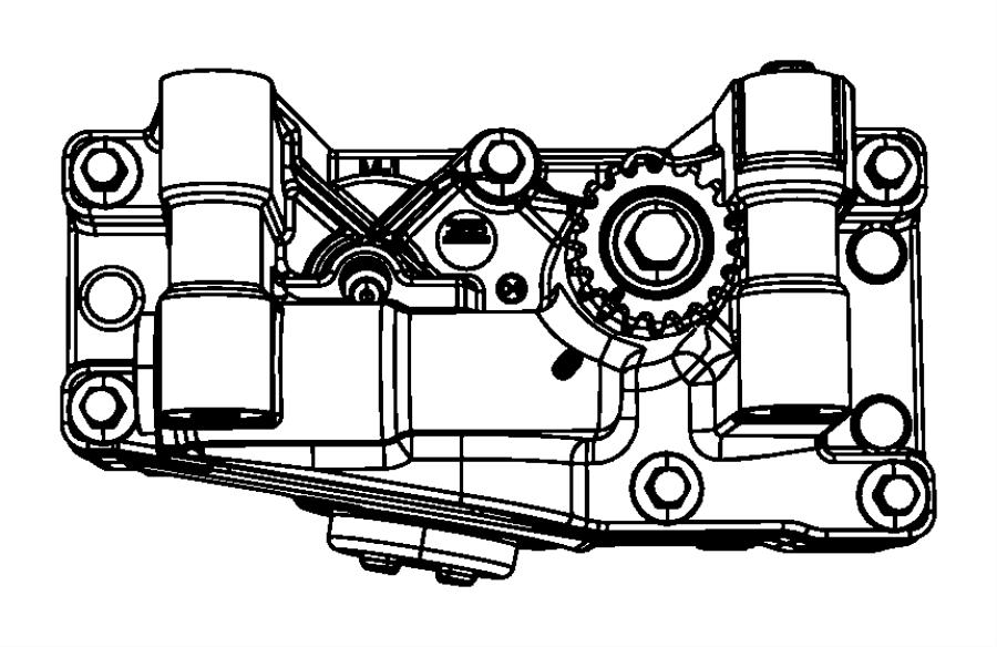 2009 dodge caliber shaft  balance with oil pump  engine  turbo  dohc