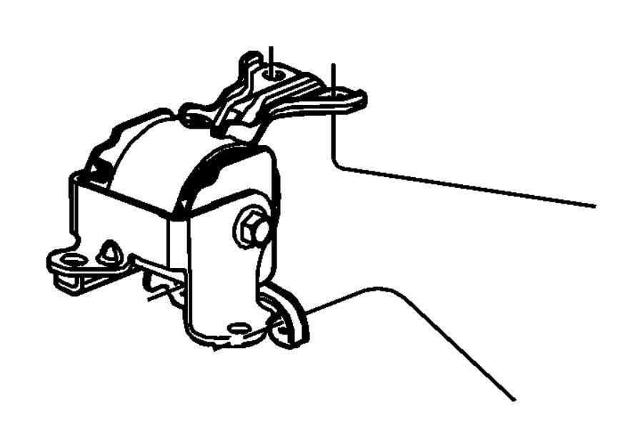 2008 dodge caliber insulator left engine mount with for 2008 dodge caliber motor mount location