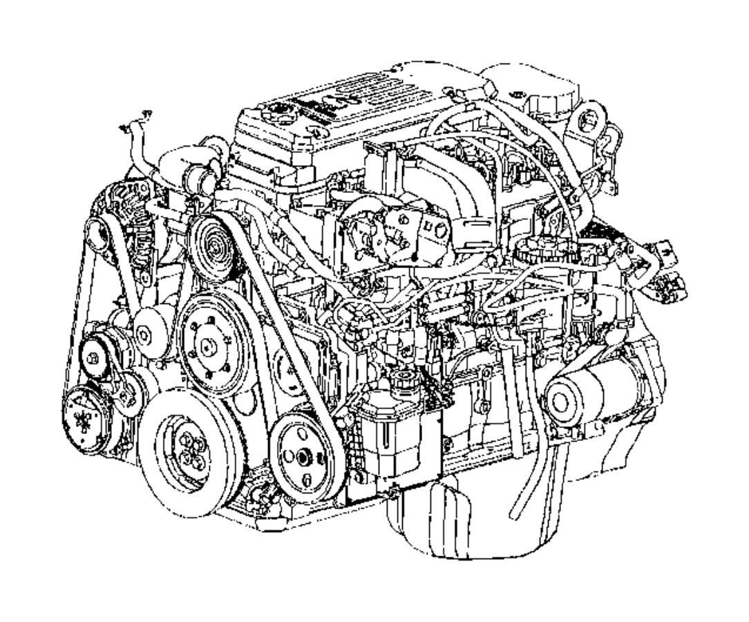 Dodge Ram 3500 Engine  Complete  Remanufactured  Cpl