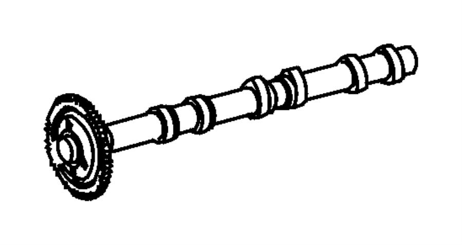chrysler pt cruiser gear  camshaft  inlet  intake