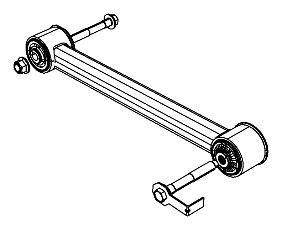 jeep liberty rear control arm diagram