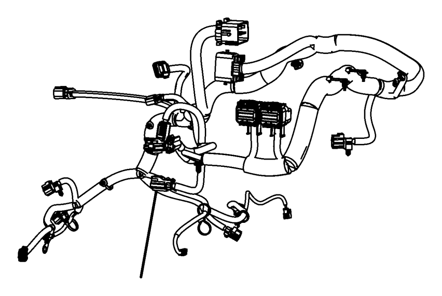 jeep wrangler wiring  engine  transmission