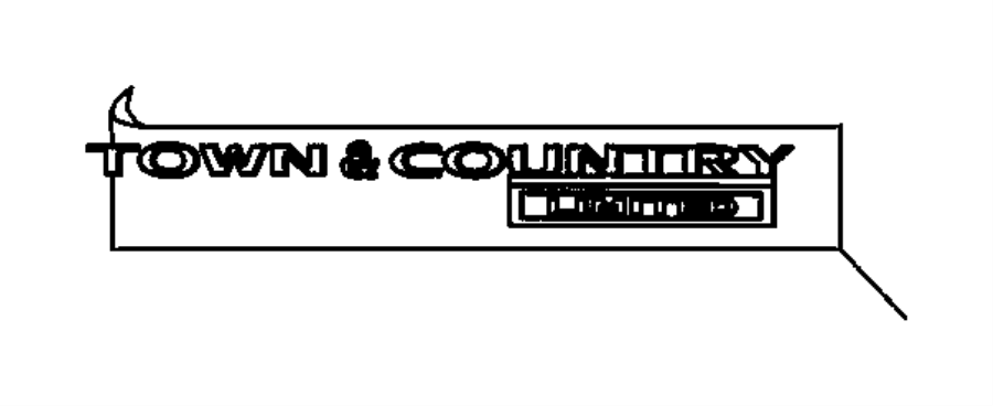 2010 dodge grand caravan nameplate  town  u0026 country limited