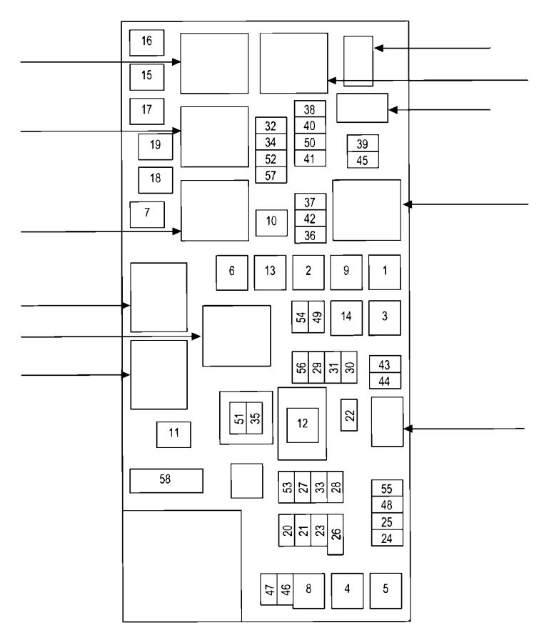 1997 dodge ram 1500 cartridge  fuseable link  120 amp  power  distribution  wiring