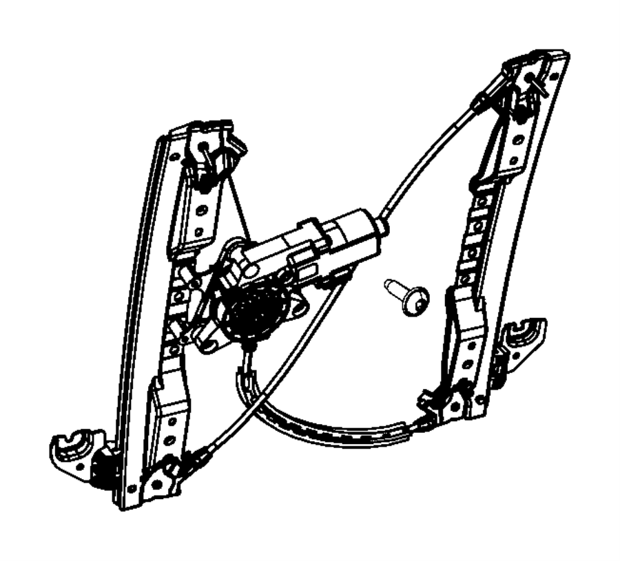 2014 chrysler town  u0026 country regulator  sliding door