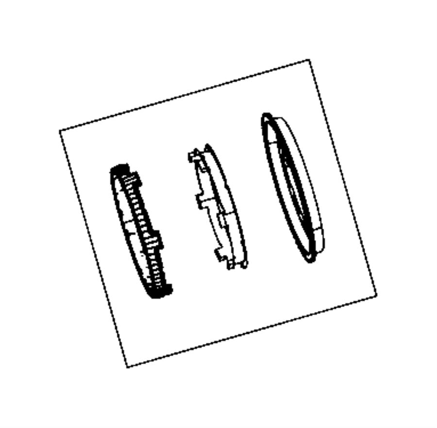 2009 dodge viper blocker ring 3rd to 4th 89 mm. Black Bedroom Furniture Sets. Home Design Ideas