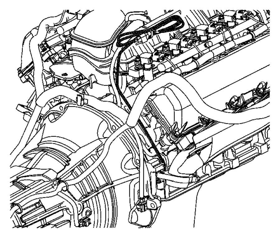 2008 dodge dakota cord  engine block heater
