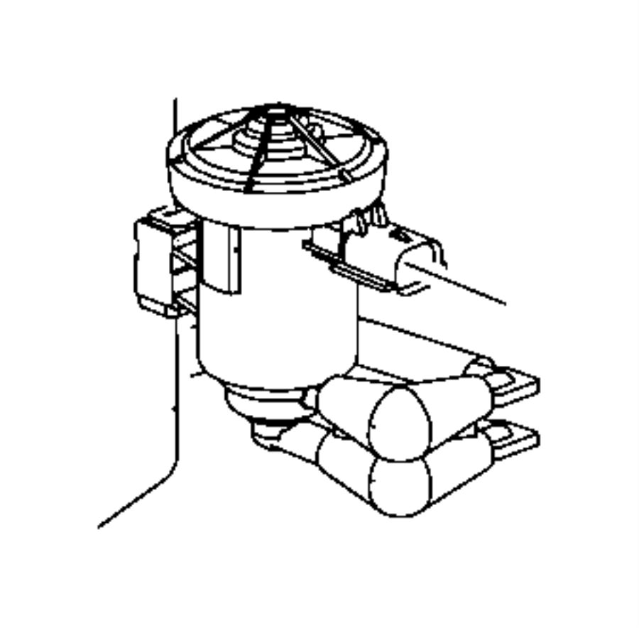 2006 dodge durango bushing  isolator  duty cycle soleniod