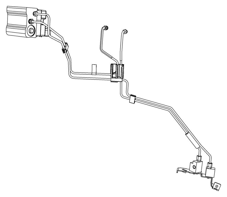 2013 dodge avenger block  junction block  brake line union  brake tube  front   brakes