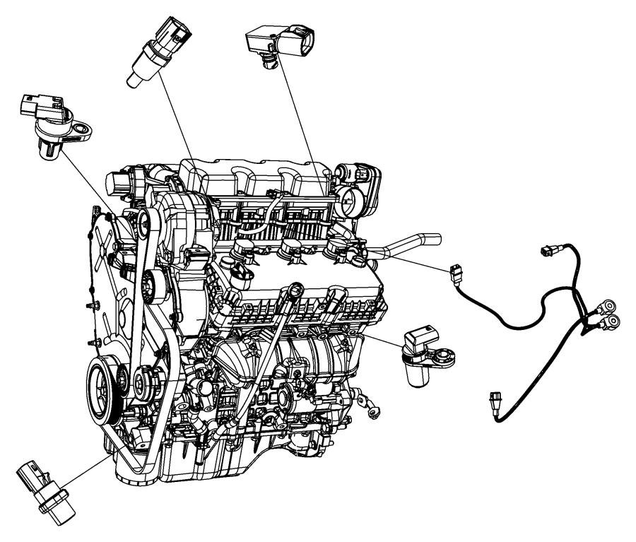 Dodge Avenger Sensor. Camshaft. [[electronic Gas Actuator