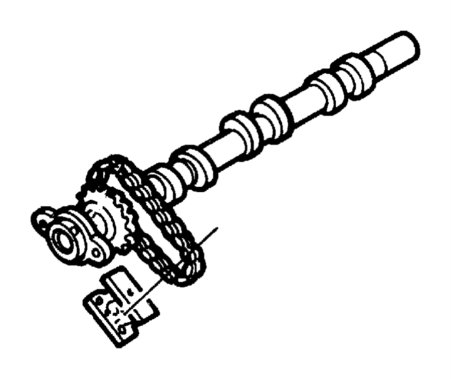 2004 chrysler concorde chain  timing secondary  camshaft