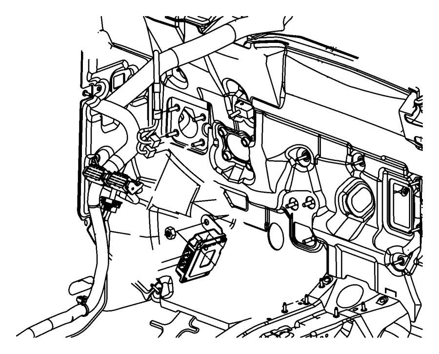 Dodge Caliber Module  Transmission Control   Cont Var  W