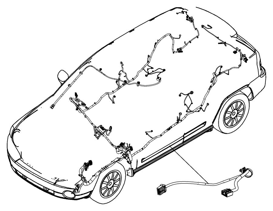 2011 jeep patriot wiring  jumper  a-pillar   rear view auto dim mirror