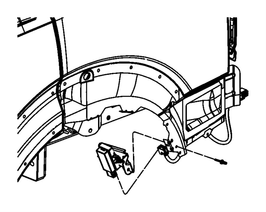 2010 jeep liberty module  trigger  tire pressure  tire