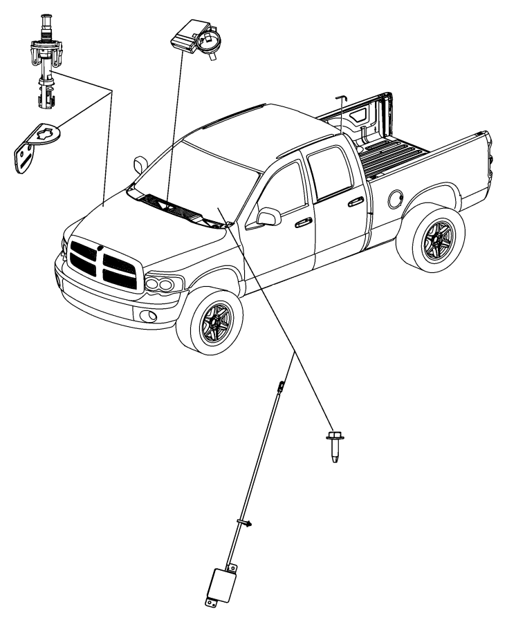 2009 jeep grand cherokee module  wireless ignition node  trim   all trim codes