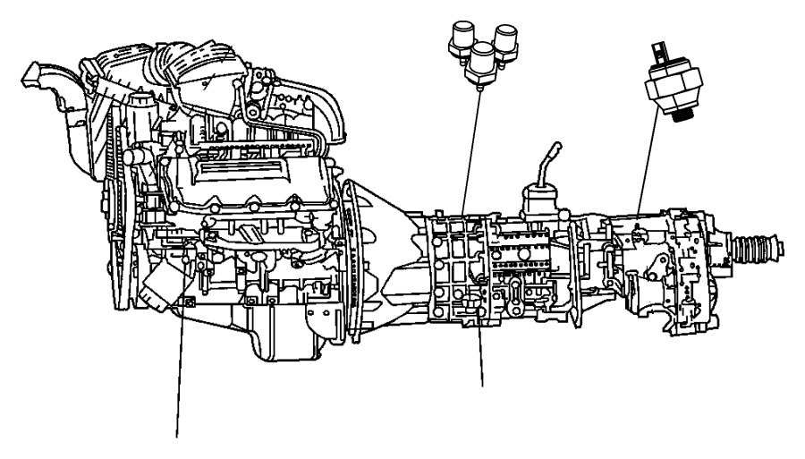 2013 jeep patriot sensor  switch  oil pressure