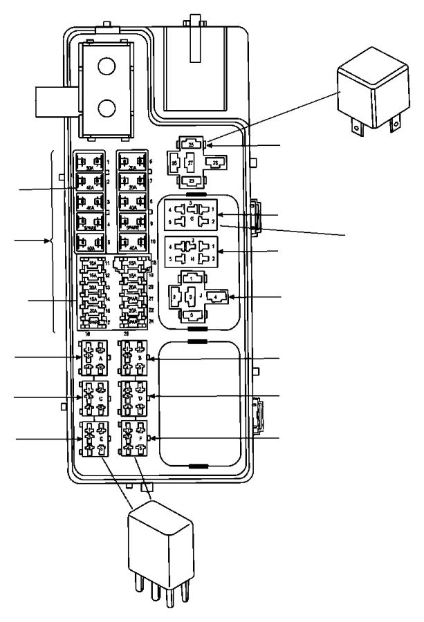 Dodge Neon Fusible Link  140 Amp  06101757  140 Amp  Trim