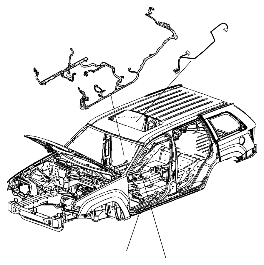 2011 jeep grand cherokee wiring  body  leveling  jkj  tow