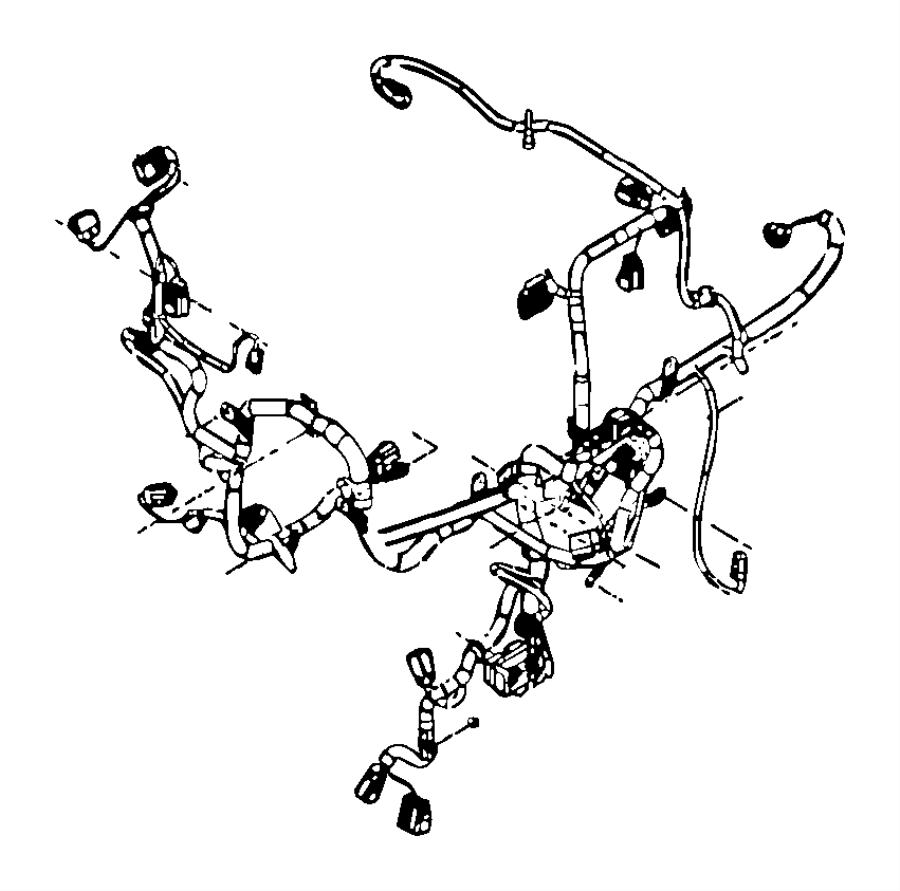 Dodge Ram 3500 Wiring  Engine   Export Emissions   Stamped