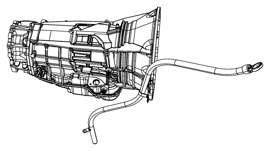 2013 dodge durango tube  transmission oil filler  case