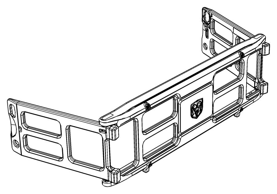 2016 ram 2500 panel  pickup box extension   truck bed cargo divider    bed cargo divider