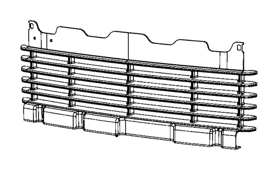 2014 ram 2500 panel  front bumper  parks