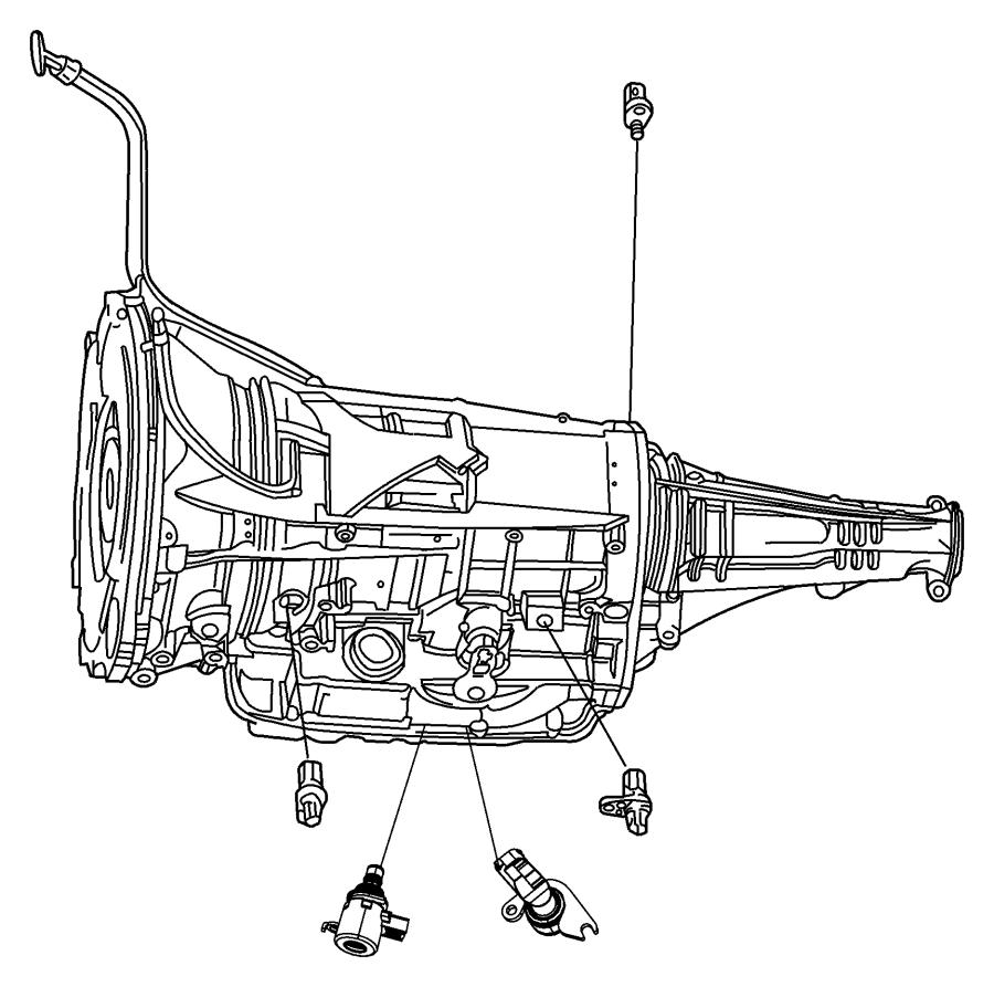 2009 Dodge Journey Sensor. Trans Variable Force Solenoid