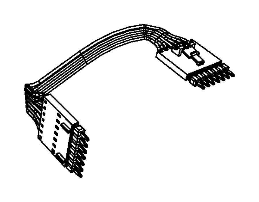 dodge avenger link  wiring  jumper  multifunction switch
