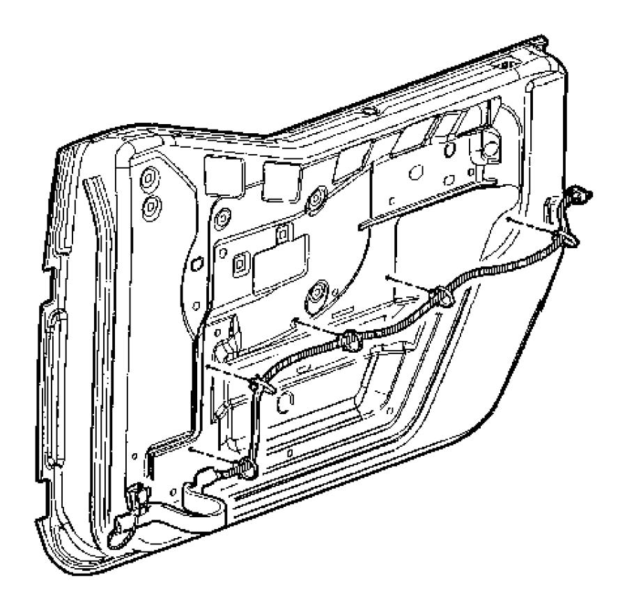 jeep wrangler wiring  left  front door   gcf  je8  jp8