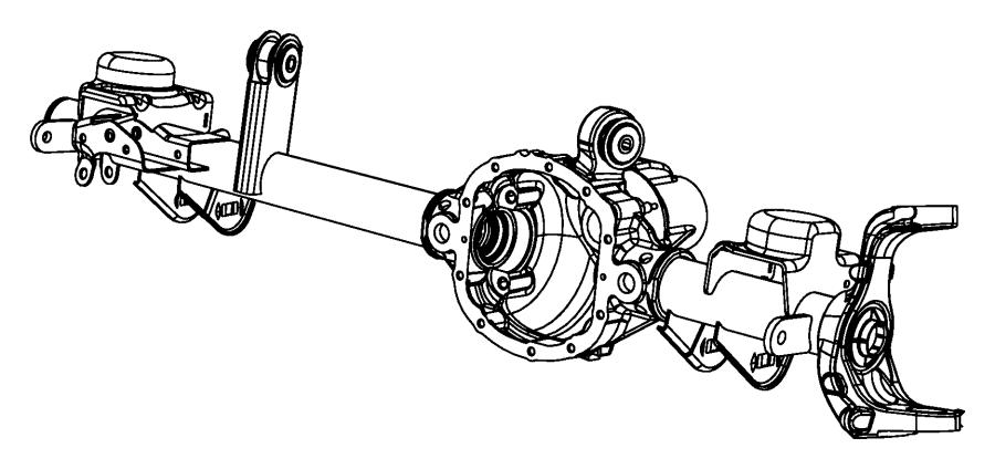 2010 jeep wrangler bushing  control arm  mounting  upper