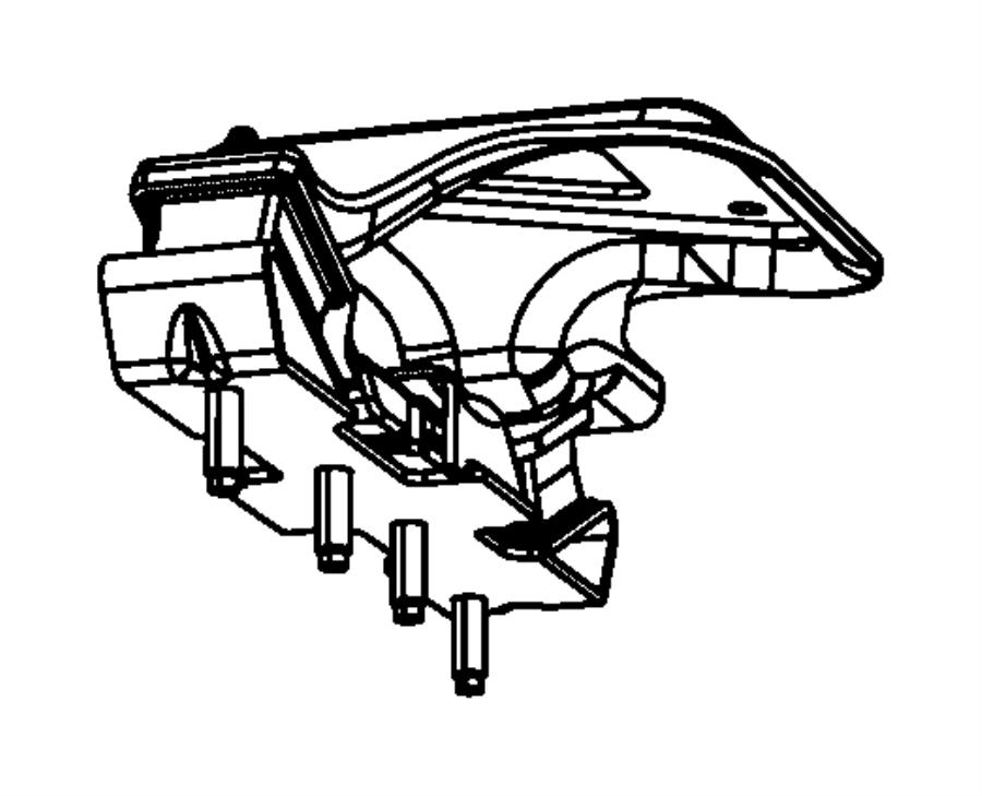 2011 jeep wrangler insulator  isolator  transmission mount