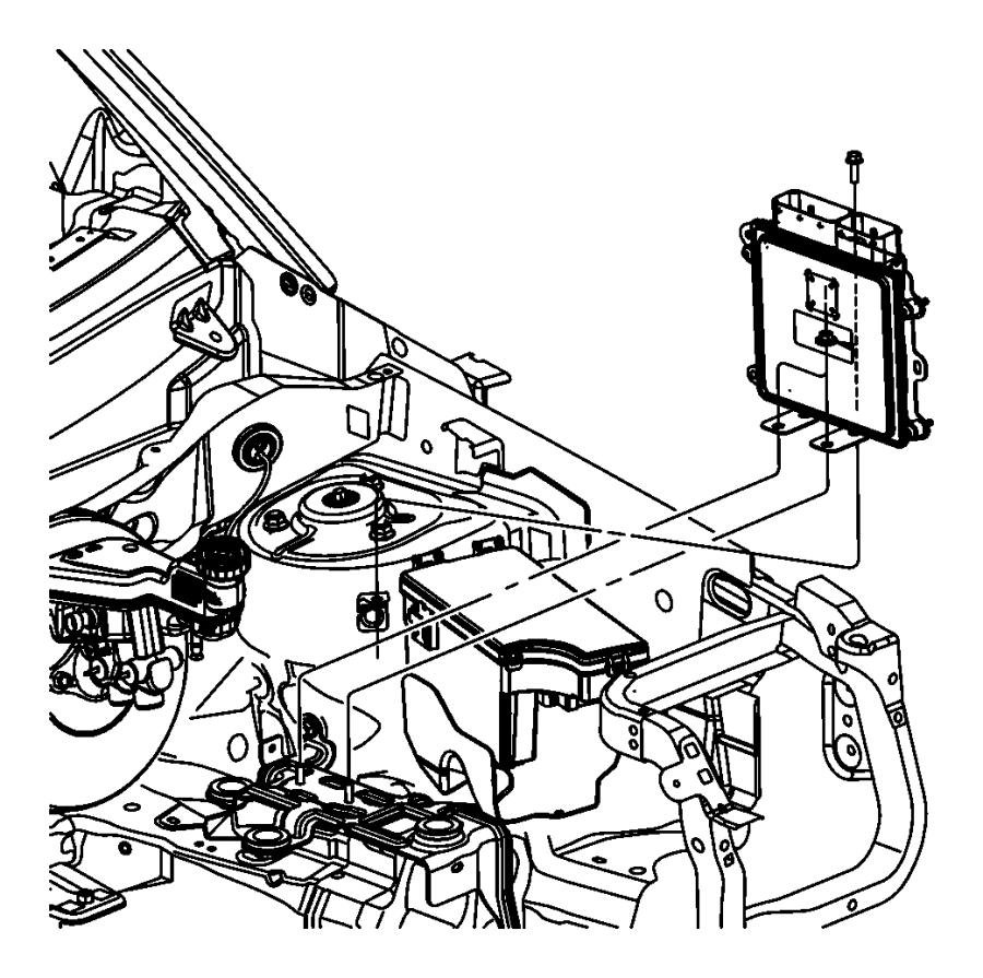 2011 jeep compass module  engine controller  modules